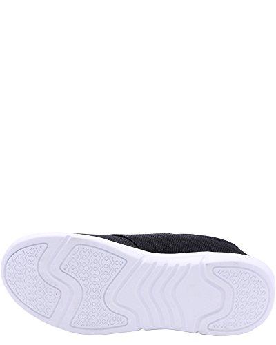 Rocawear Kvinners Mesh Joggesko, R-5008 Svart / Hvit