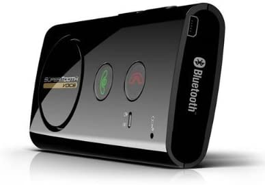 Black SuperTooth Buddy Bluetooth Visor Speakerphone Car kit
