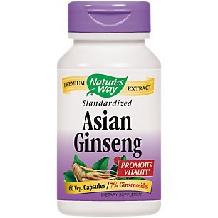 Nature's Way, Ginseng Asian Standardized Extract - 60 softgels