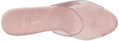 Pleaser - Sandalias mujer - Clear/B.Pink