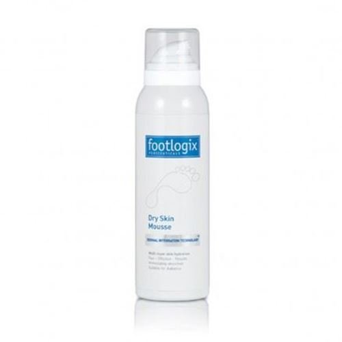 Footlogix Hydrating Dry Skin Mousse 125ml with Dermal Infusion Technology