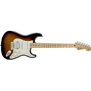Fender Standard Stratocaster Electric Guitar - HSS - Maple Fingerboard, Brown Sunburst