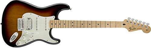Fender Standard Stratocaster Electric Guitar - HSS - Maple Fingerboard, Brown Sunburst by Fender