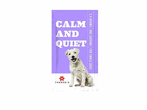 Therabis Calm and Quiet Meal Supplement (30-Pack, Small Dogs up to 20lbs) by Therabis