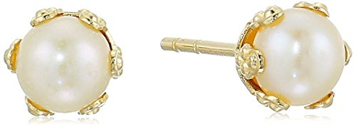 Yellow Gold Button - 8