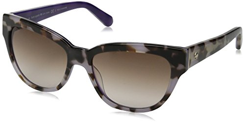 Kate Spade Women's Aisha Cateye Sunglasses, Tortoise Lavender & Brown - Sunglasses Designer Purple