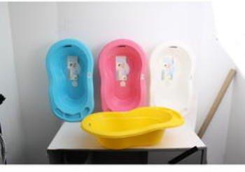 27 Inch Baby Bath Tub Plastic 12 pcs sku# 1266026MA by DDI