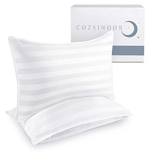 COZSINOOR Hotel Collection Pillows for Sleeping (2-Pack)- Luxury Down Alternative