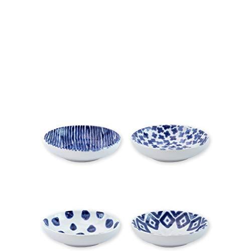 Viva Santorini Assorted Condiment Bowls - Set of 4