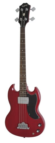 EpiphoneEB-0 Electric Bass Guitar، Cherry Red