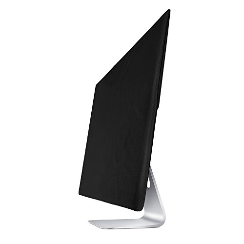 Lightning Power - Premium Protective Dust Screen Cover Sleeve with inner soft lining for Apple iMac (27 Inch, Black) by Lightning Power (Image #7)'