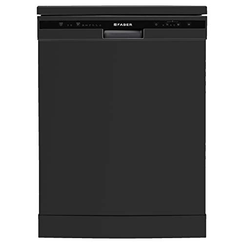 Faber 12 Place Settings Dishwasher (FFSD 6PR 12S, Neo Black, Best suited for Indian Kitchen, Hygiene Wash)