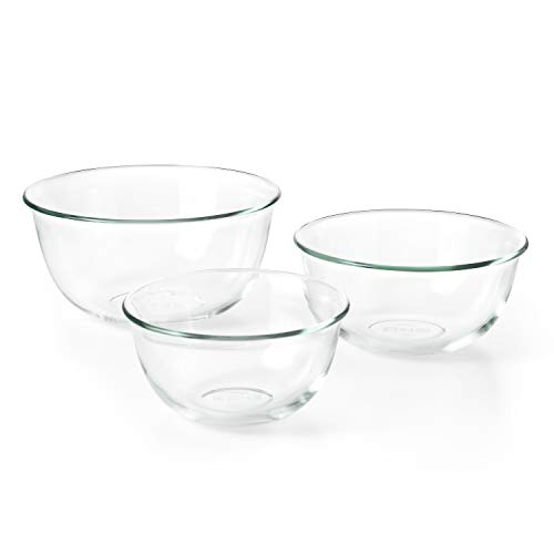 OXO Good Grips 3 Piece Glass Bowl Set