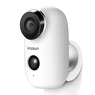 Outdoor Security Camera Wireless,Glaric Full HD 1080P WiFi Rechargeable Battery Powered Camera,Indoor Home Security Camera with Motion Detection, Night Vision, 2-Way Audio, Waterproof