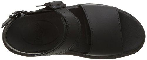 Dr. Martens Voss - Black Hydro Leather Noir