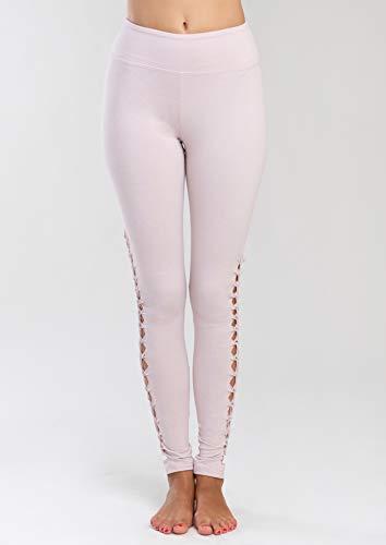 Jala Women's Lotus Legging, Blush, Medium