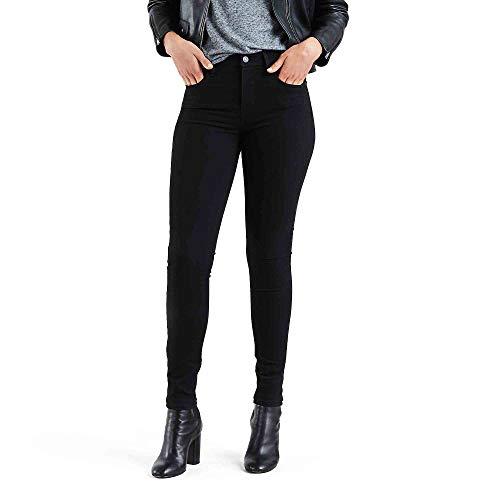 Levi's Women's 721 High Rise Skinny Jeans, Black Sheep, 27W x 28L (High Black Rise Levis Skinny)