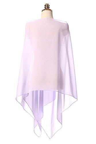 per chiffon VIPbridal diversi da Lanvender Scialle sposa in ogni in abiti abito per colori wZwFtEq