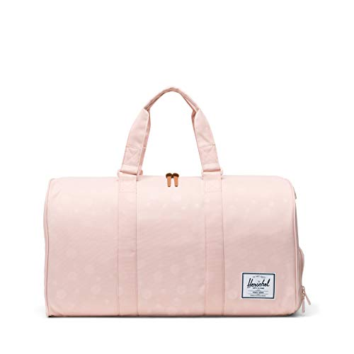 (Herschel Novel Duffel Bag, Polka Cameo Rose, One)