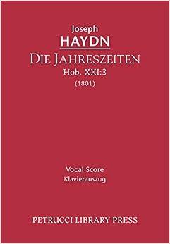 Die Jahreszeiten, Hob.XXI:3: Vocal score