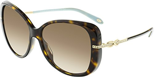Tiffany and Co. Infinity Butterfly Sunglasses TF4126B 81343b Tortoise with Brown Gradient - Sunglasses Tiffany Butterfly
