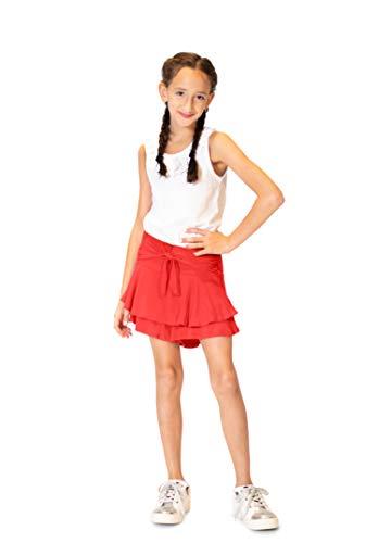 KIDPIK Skater Skort for Girls – Fun & Flairy Skirt & Active Short Hybrid