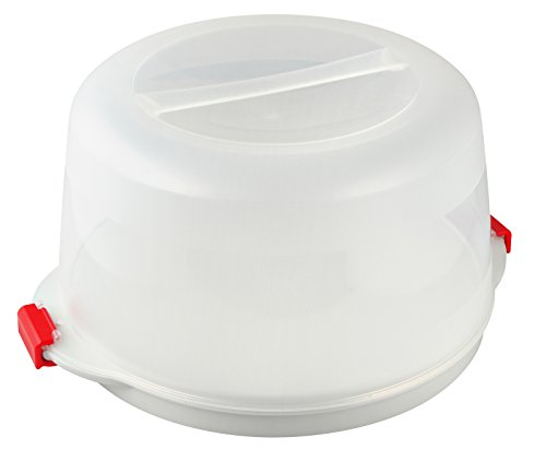 Cake Cool (Dr.Oetker Bake and Go Cool Cake Transport Box, Stainless Steel, White, 38.5 x 19 cm by Dr. Oetker)