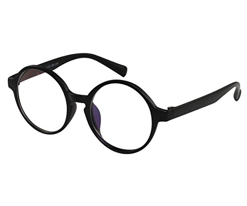EyeBuyExpress Bifocal Glasses Reading RX Women Men Bold Round Harry Potter Style - Glasses Harry Reading Potter