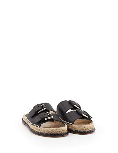 Black Palquibianc Leather Barceló Paloma Sandals Women's OqwapptH