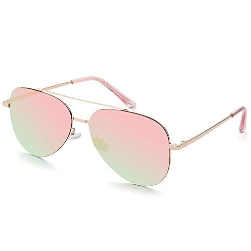 De Pilote Soleil Lunettes pour Femmes Lunettes Soleil Polarisées Pink Nylon De des pour Non FKSW Pilotes en Lunettes Conduisant De Femmes gfawAq