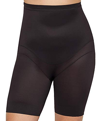Miraclesuit Shapewear Women's Plus Size Extra Firm Control High-Waist Thigh Slimmer Black 3X
