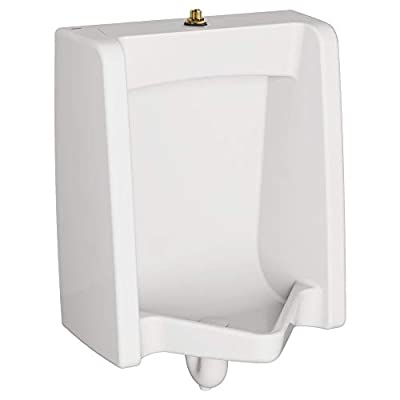 American Standard 6590001.020 Washbrook Urinal with 3/4-In Top Spud, 26.13 in wide x 18.88 in tall x 14.13 in deep, White