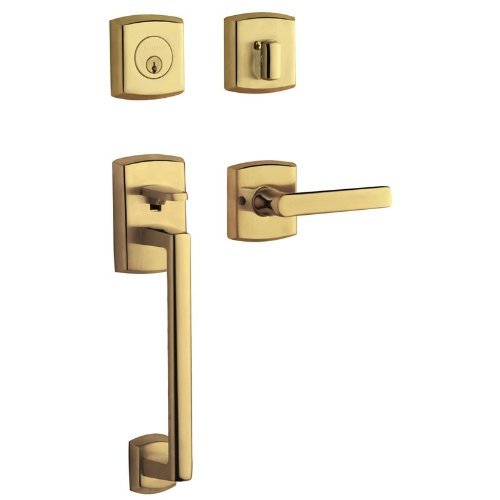Baldwin Hardware Soho Lever - Baldwin Hardware 85386.003.RENT Handle Set