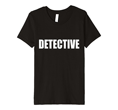 Kids Detective T Shirt Halloween Costume Funny Cute Distressed 12 (Girl Detective Costume)
