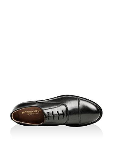 Zapatos Toe Oxford Negro Cap 41 British Passport Eu xSwafc7H