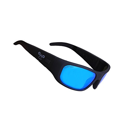OHO Open Ear Bluetooth Sunglasses Headset with UV Impact Resistant Lens