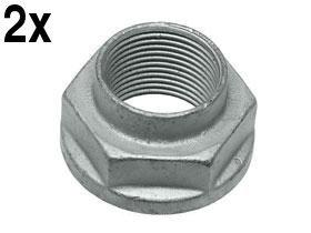 BMW Mini Lock Nut for Wheel Bearing/Axle Front (x2) (Axles Mini Set)