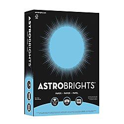 """Fireworks Paper (Astrobrights Color Paper, 8.5"""" x 11"""", 24 lb/89 gsm, Lunar Blue, 500 Sheets (21528))"""