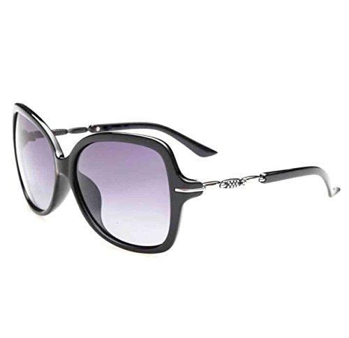 Exteriores Sol Protección Gafas De Negro Mujer Moda Para Uv Polarizadas 8wHg5qw