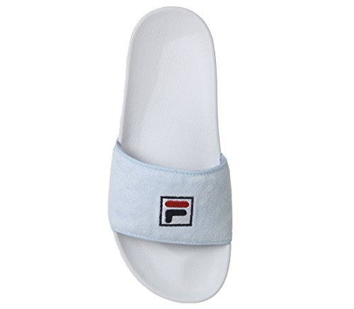 Fila Femme White Skyway Bleu Sandales White pour Skyway 6qxraA6