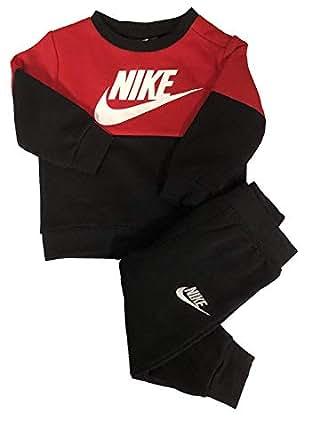 Amazon.com: Nike Baby Boy's Colorblock Fleece Sweater ...