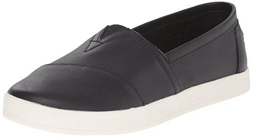Black Avalon Women's Canvas Slip Ankle TOMS On High Shoes S8wqTnFZ