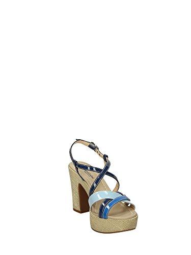 Nero Giardini - Zapatos de vestir para mujer azul celeste