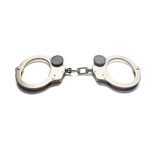 Zak Tool ZT60 Tactical Training Handcuff Chain Link Nickel Finish Model