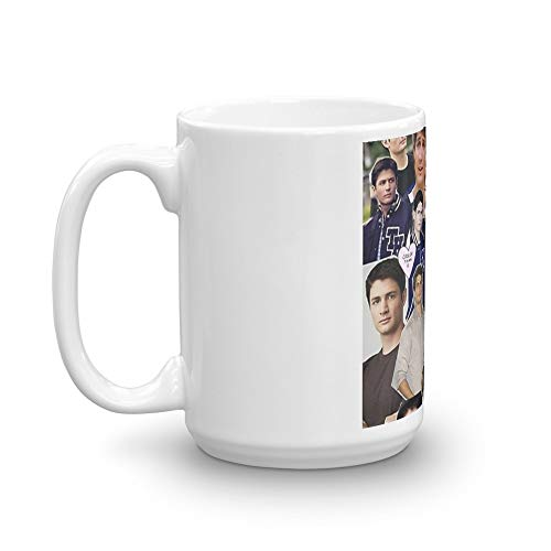 Tyna Ho Nathan Scott Collage Mugs Durable Ceramic With An Handle 15 Oz