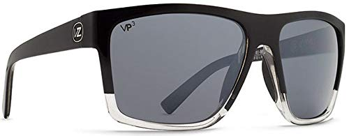 cf11522f97 Amazon.com  VonZipper Unisex Dipstick Polarized Joel Sig Black ...