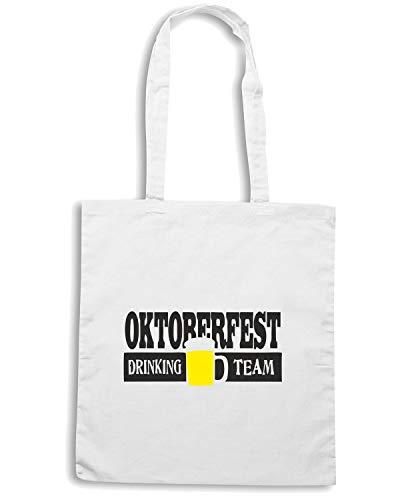 OKTOBERFEST Speed BEER0099 DRINKING Shopper Shirt TEAM Bianca Borsa rqwZO7xqX