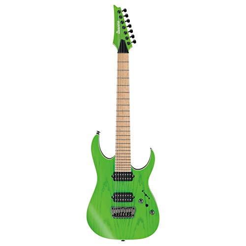 Prestige 7 String - Ibanez Prestige RGR5227MFX 7-String - Transparent Fluorescent Green
