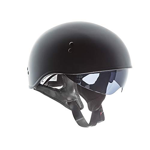 TORC T55 Spec-Op Half Helmet (Flat Black, Small)