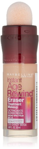 Maybelline Instant Age Rewind Eraser Treatment Makeup, Sandy Beige, 0.68 fl. oz.